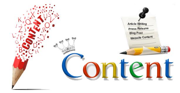 كتابة محتوى المواقع